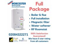Worcester Bosch Greenstar Combi Boiler PROFESSIONAL INSTALLATION (supply & fit) Or Supply Only