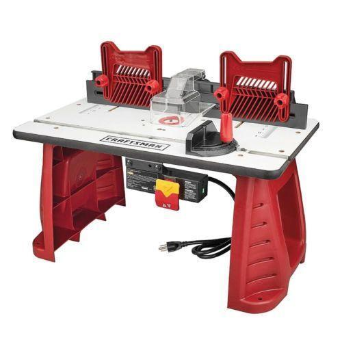 Router table ebay craftsman router table greentooth Choice Image