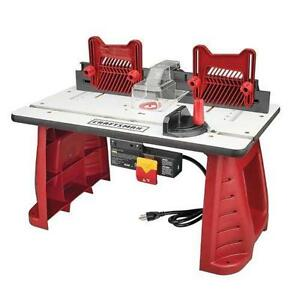 Router table ebay craftsman router table greentooth Images