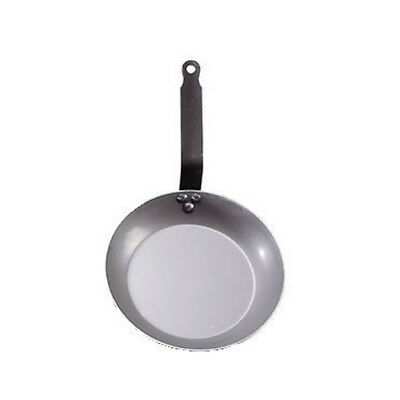 "de Buyer ""Carbone Plus"" Steel Frying Pan, Heavy Duty Steel S"