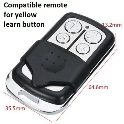 891LM LiftMaster COMPATIBLE 4 Button Remote Garage Security+ 2.0 MyQ 953EV