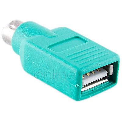 Adaptador USB Hembra a PS2 Macho CONVERSOR a1452