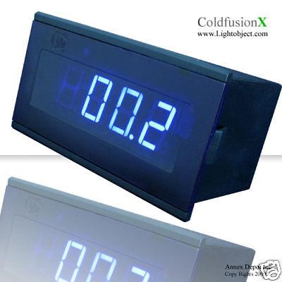 3-12 Blue Led Ac 200a Digital Amp Current Panel Meter