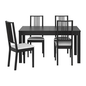 Dining table and 4 chairs - Immaculate condition Bowen Hills Brisbane North East Preview