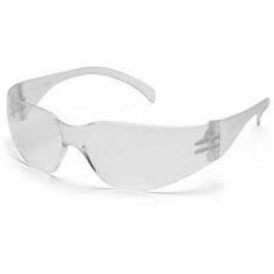 Pyramex New Safety Glasses Intruder Clear Sunglasses Z87 Lot 12 Pairs S4110s