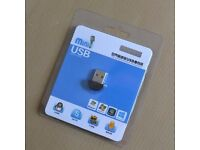 Super Mini USB 2.0 Microphone Audio Adapter Driver Free for MSN PC Notebook