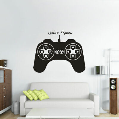 Wall Decal Vinyl Sticker Gaming Time Xbox 360 Ps3 Game Ps2 Controller (Z2776) for sale  Shipping to India