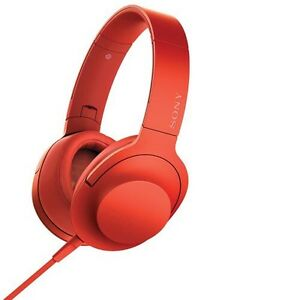 Sony h.ear Over-Ear High-Resolution Headphones - Red