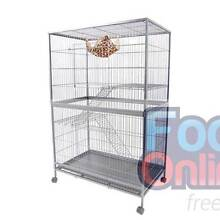 3 Level 136cm Cat Ferret Hamster Rat Bird Cage Aviary North Melbourne Melbourne City Preview