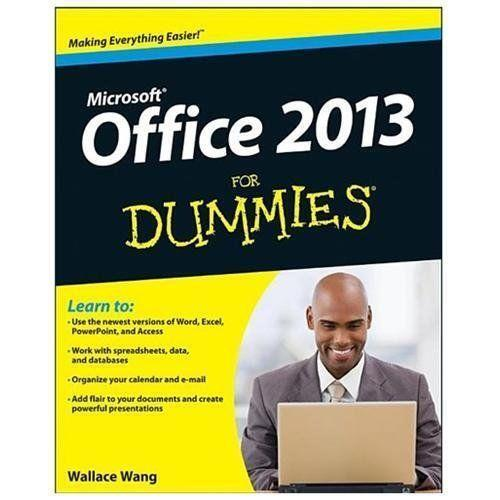 Microsoft Office For Dummies Books Ebay