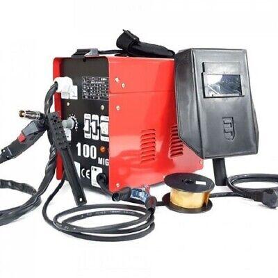 Soldador de hilo continuo MIG-100 sin gas Con accesorios - Envío urgente...