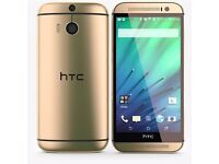 Brand New and SEALED HTC One M8 32GB Unlocked Smartphone - Amber Gold