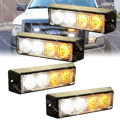 Led Snow Plow Lights Ebay