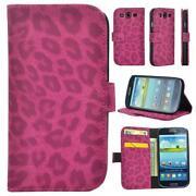 Samsung Galaxy S3 Hülle Leopard