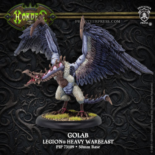Hordes Legion of Everblight Golab Character Warbeast PIP73109 Privateer Press
