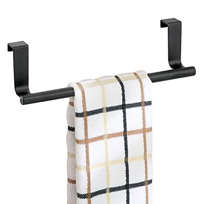 Bathroom Kitchen Cabinet Hand Towel Rack Over Door Towel Bar