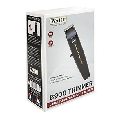 Wahl Professional  8900 Cordless Rechargeable Trimmer  Black  New   Authentic