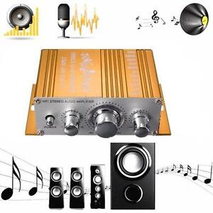 12V 5A Mini Hi-Fi Stereo Audio Small Amplifier AMP for Car Motorcycle Radio MP3