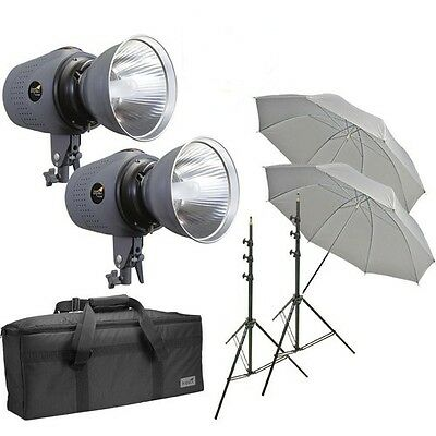 Impact Two Digital Monolight Kit with Case (120VAC) 800 Total (Two Monolight)