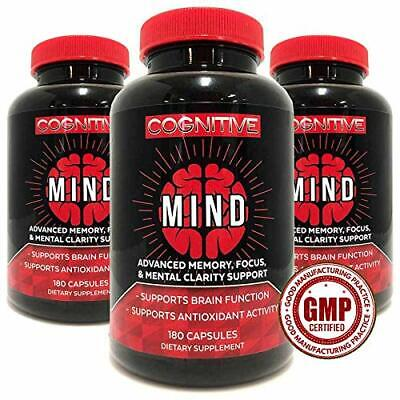 BEST Brain Support Supplement Brain Booster Supplement Focus