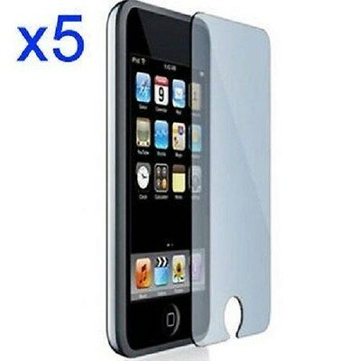 5X Clear SCREEN PROTECTORS for iPod Touch 3rd 2nd Generation 3G 2G USA SELLER
