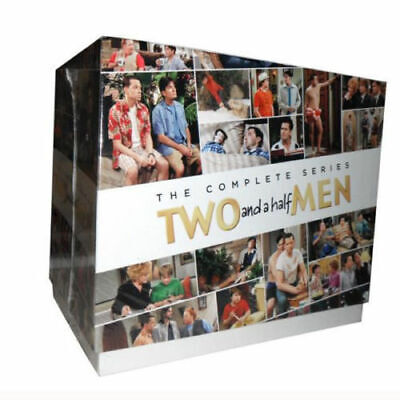 Two and a Half Men The Complete Series All 12 Seasons Boxed Gift Set BRAND