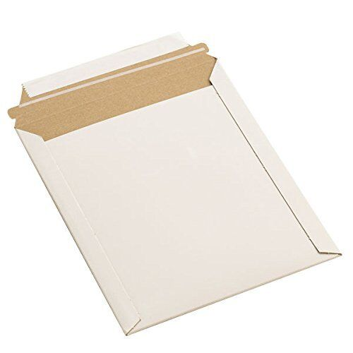 "12.75""x15"" RIGID PHOTO MAILERS ENVELOPES FLAT DOCUMENT SELF SEAL 100 to 1000"
