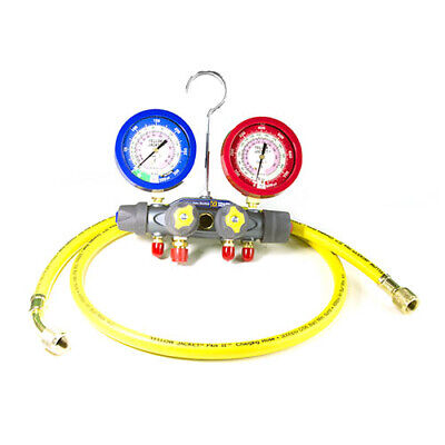 Yellow Jacket 49977 Titan 4-valve Test Charge Manifoldr-22410a F
