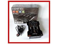 Allen & Heath Xone 23C Professional DJ Mixer with 96kHz/24bit Internal Soundcard