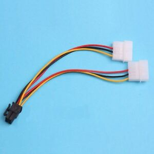 Video Card Power Adapter Cable PCI-E 6 Pin And 8 Pin
