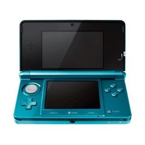 Turquoise 3DS + a few games