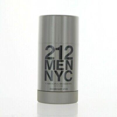 212 MEN NYC by Carolina Herrera 2.3 OZ DEODORANT STICK NEW for Men