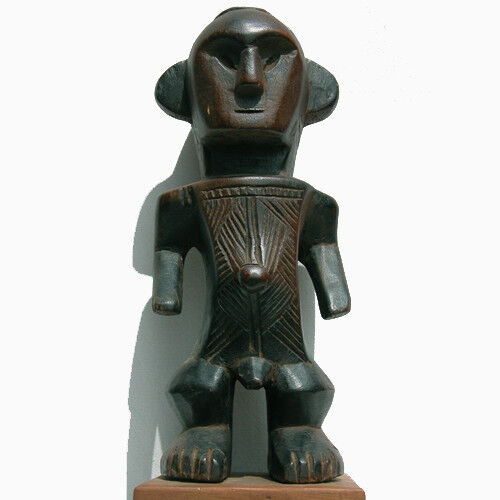 an old antique male figure with good patina bembe congo #8