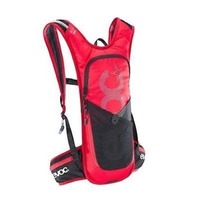EVOC CC 3L Race + 2L Bladder Lightweight Cycling Mtb Hydration Backpack Red New