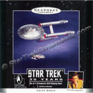 "STAR TREK ""STARSHIP ENTERPRISE"" HALLMARK ORNAMENT"