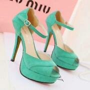 Womens Shoes Size 7 Green