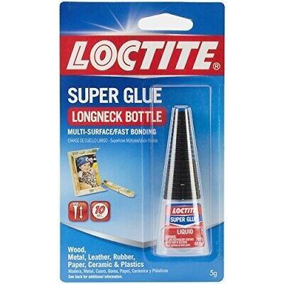 Loctite Super Glue Liquid 10-Gram Longneck Bottle