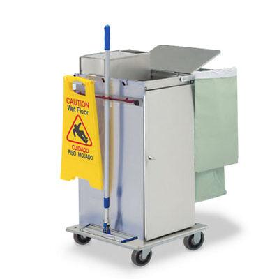 Royce Rolls Mp36e Stainless Steel Std-size Microfiber Housekeeping Cart