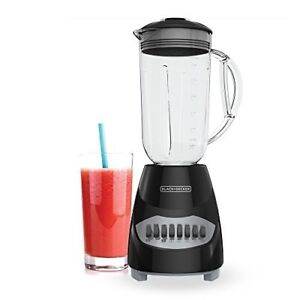 Countertop Blender with 5-Cup Glass Jar, 10-Speed Settings