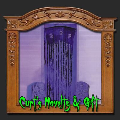 Halloween Doorway Curtain (SKULL DOORWAY CURTAIN 72