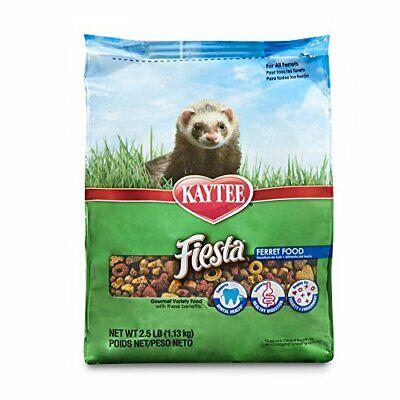Fiesta Ferret Food Kaytee Smal Animals Treats Pet Supply Digestive Health 2.5-Lb