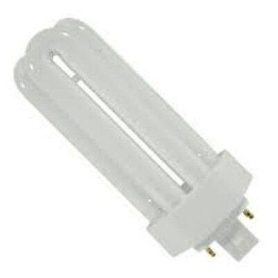 *LOT OF 2* 26 WATT 26W 4100K 4 PIN COMPACT FLUORESCENT LAMP GX24Q-3 4041
