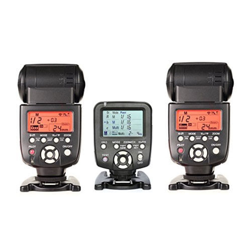 Yongnuo Yn560tx Lcd Wireless Flash Controller + 2 Pcs Yn5...