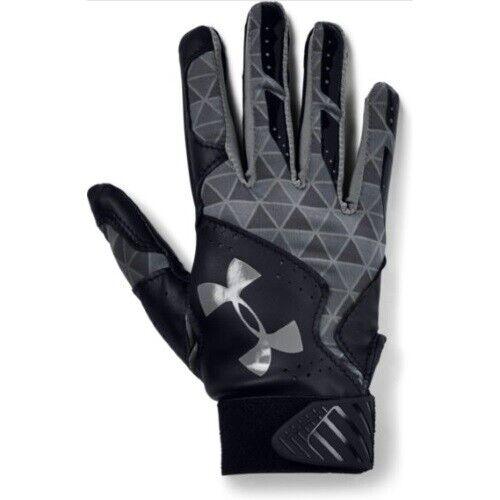 Under Armour Radar Womens Batting Gloves 1299550 - BK/GPH/GPH - M