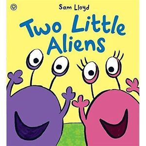 Two Little Aliens-ExLibrary