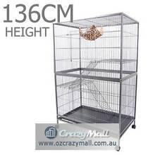 Bird  Cage 3 Level Hamster Budgie Pet Aviary With Wheels Melbourne CBD Melbourne City Preview