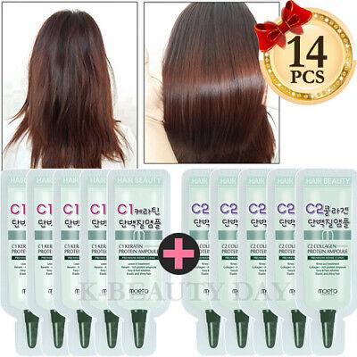 MOETA Premium Protein Hair Ampoule 14pcs Intensive treatment for damaged hair