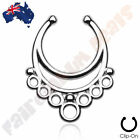 Stainless Steel Ring Fake & Cheater Body Jewellery