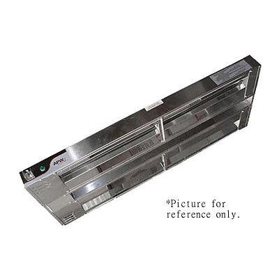 Apw Wyott Fdd-48l-t 48 High Watt Strip Type Double Heat Lamp - Toggle Controls