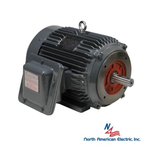 5 hp explosion proof electric motor 184tc 1800 hazardous location PEXP184TC-5-4